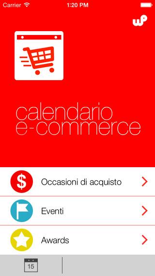 calendario ecommerce 2015