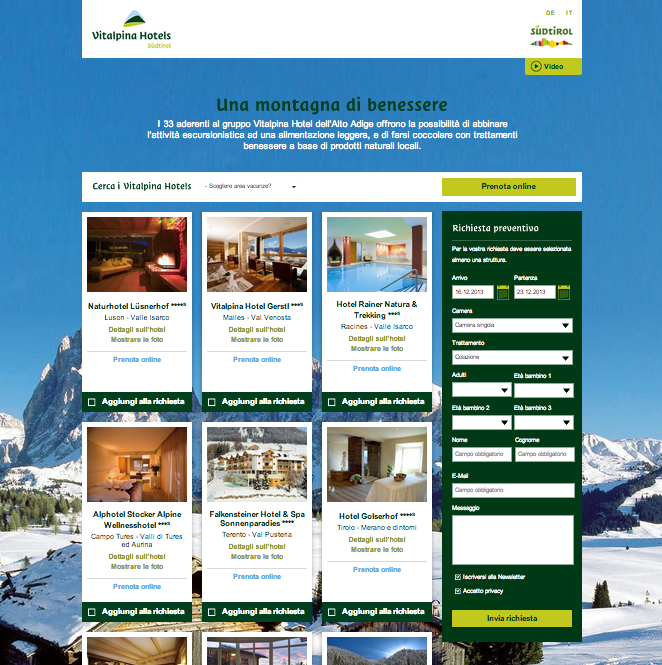 vitalpina hotels